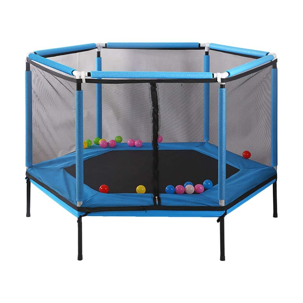 【2018最新作】 室内用トランポリン : トランポリンの子供の安全ゲームのフェンス 家の屋内のバウンスベッドの子供トランポリン フェンス最高の贈り物とフィットネス 室内用トランポリン (Color (Color : Red, Blue Size : 157*157*110cm) B07L6F6NMW Blue 157*157*110cm 157*157*110cm|Blue, S4R:fc6ce3f1 --- staging.aidandore.com