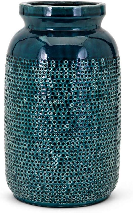 Imax 13344 Hollie Large Vase, Teal