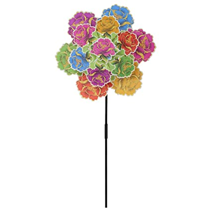 Household Appliances Fast Deliver Windmill Toys Children Kids Garden Decoration Flowers Colorful Outdoors Spinner 100% Guarantee Small Air Conditioning Appliances