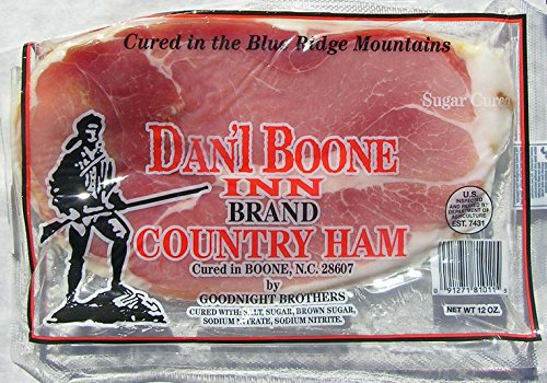 Dan'l Boone Country Ham 6 - 12oz Packages (4.5 Lbs) Country Ham Slices