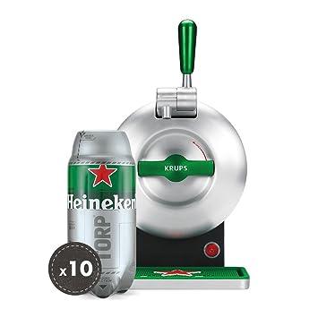 Pack Heineken THE SUB | Tirador de cerveza de barril THE SUB Heineken Edition + 10