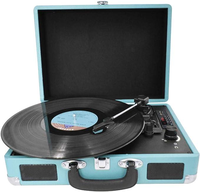 Prixton Vintage Vinyl Plattenspieler Vinyl Player Elektronik