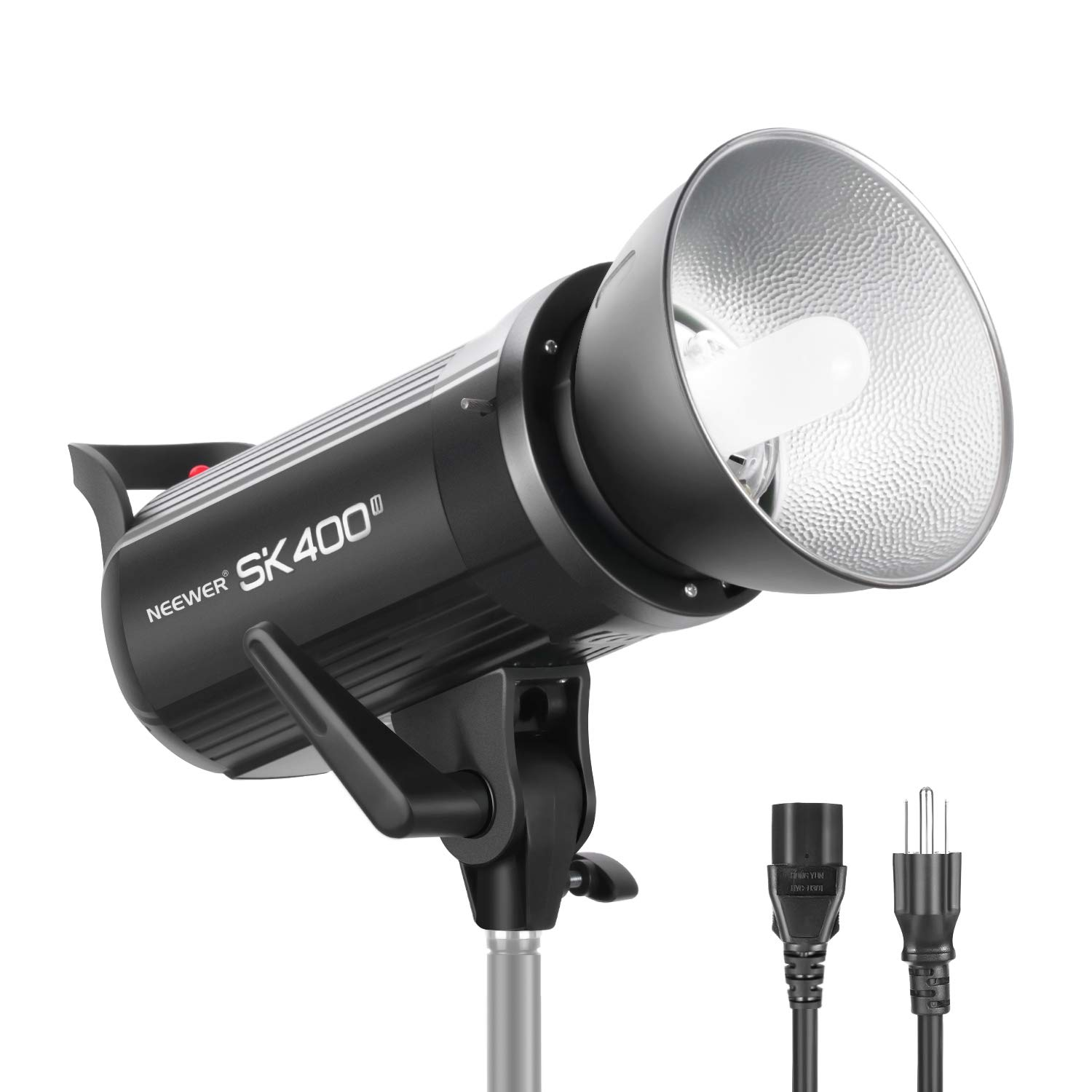 Neewer SK400II Studio Strobe 400W, 2.4G Wireless System GN65 5600K Monolight with Bowens Mount 150W Modeling Lamp, Large LCD Panel, Outstanding Output Stability, Anti-Preflash for Studio Shooting by Neewer