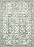 """Area Rug Vintage Light Blue 10′ x 13′ 5"""" FT St. John Collection Rugs – Inspired Overdyed Carpet Review"""
