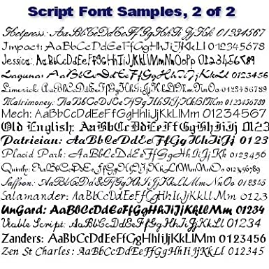 Script and Calligraphy Font Set