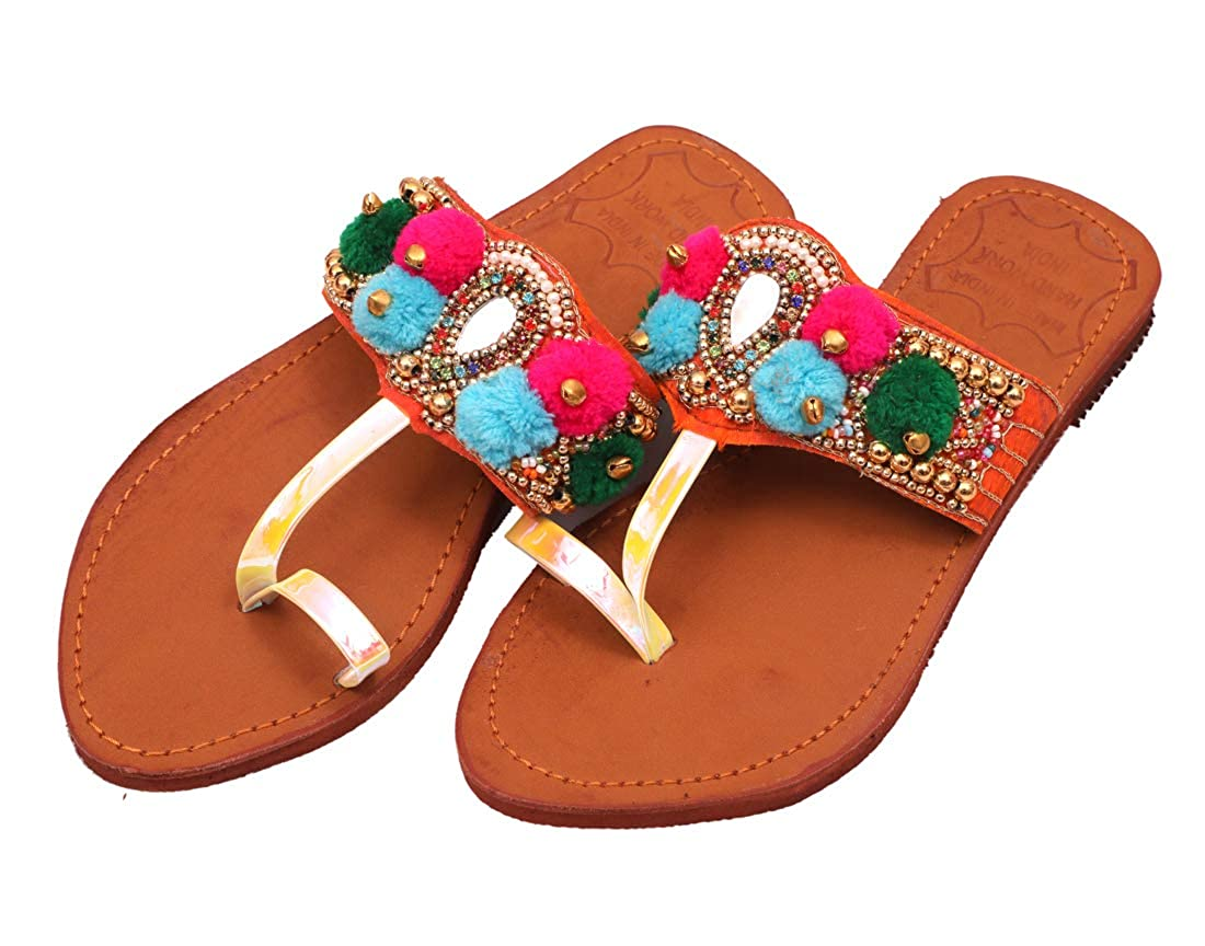 Rajeraj Women\\Girl Kolhapuri Slippers