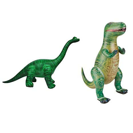 Amazon.com: Jet Creations Tyrannosaurus Rex inflable, 34 ...