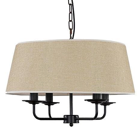 tatosun Tejido lámpara de techo lámpara ø50 cm × H39 cm ...