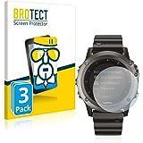 BROTECT Pellicola Vetro Compatibile con Garmin Fenix 3 [3 Pezzi] - Vetro Prottetivo, Flessibile 9H, AirGlass