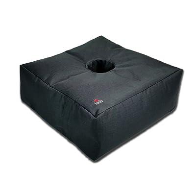 Gravipod 14 Square Umbrella Base Weight - Up to 65 lbs : Garden & Outdoor
