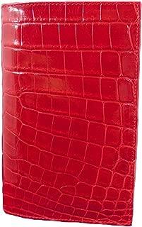 "product image for ""Pocket Secretary"" Red Alligator Wallet"