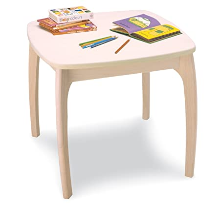 Pintoy Junior Wooden Table: Amazon.co.uk: Kitchen & Home