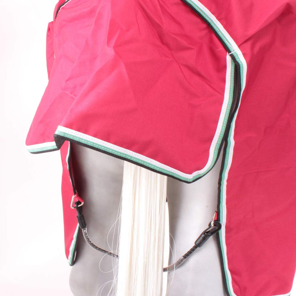 Horseware Amigo Hero ACY Lite 0g Disc Front Regendecke Red//White
