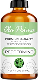 Ola Prima 4oz - Premium Quality Peppermint Essential Oil (4 Ounce
