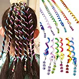 Sasairy 12PCS Women Hair Styling Twister Clip Girls Hair Braider DIY Tool Accessories