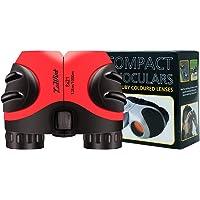 Luwint 8 X 21 Kids Binoculars for Bird Watching, Wildlife Nature Scenery, Game, Safari, Fishing, Mini Compact Image…