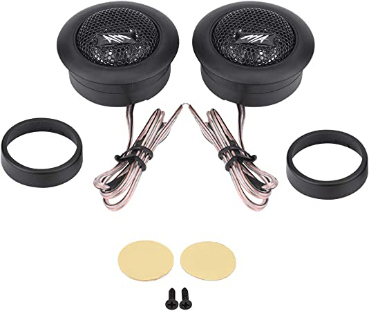 Evgatsauto Audio Lautsprecher Paar 12v 120w Auto Mini Super Power Loud Dome Audio Lautsprecher Hochtöner Lautsprecher Horn Auto