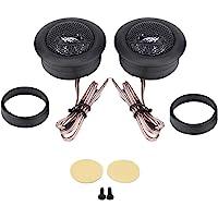 Yctze Audio Speaker Paire De 12V 150W Voiture Mini Super Power Loud Dome Haut-Parleur Haut-Parleur Tweeter Klaxon