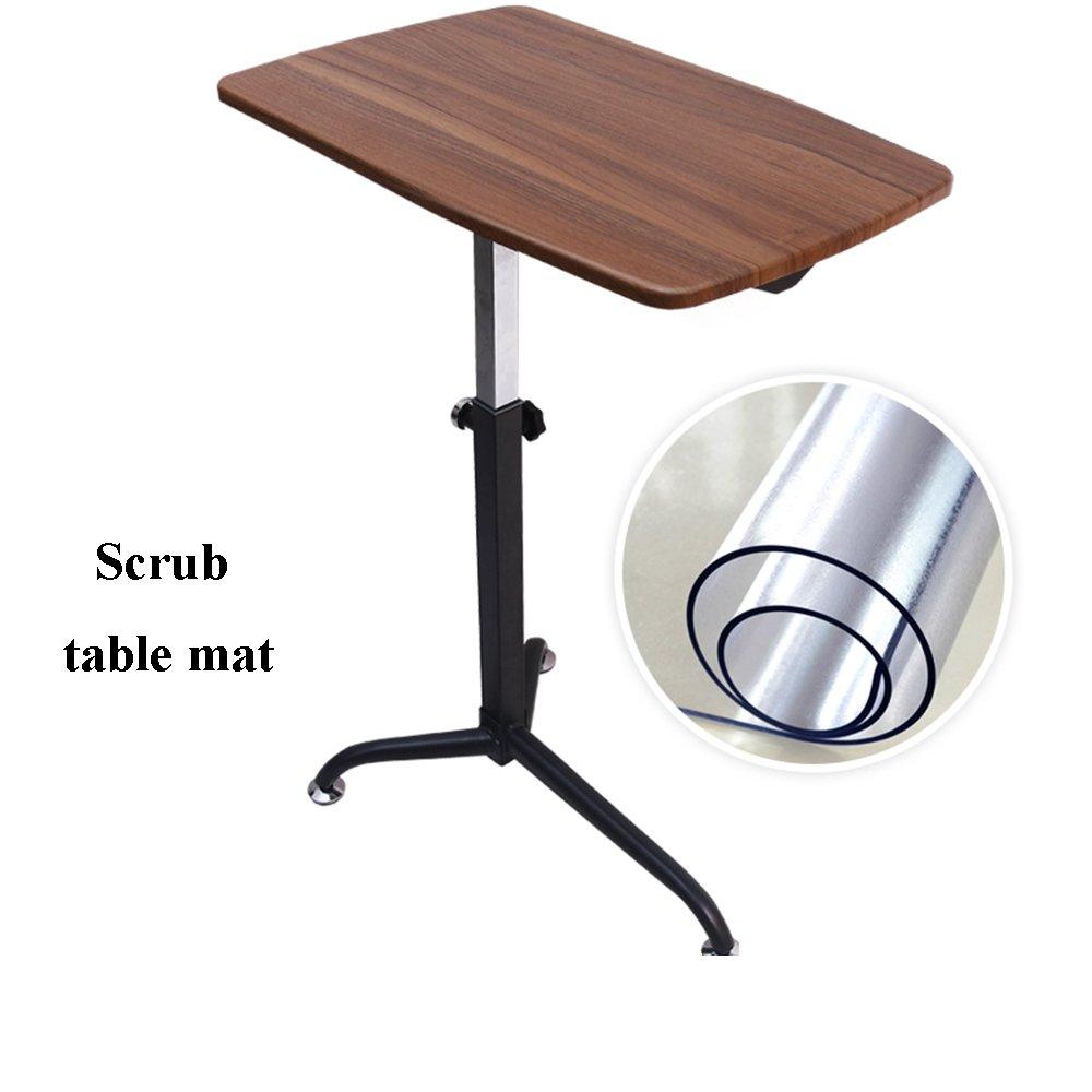 XIA 折り畳みテーブル 高さ調節可能なラップトップスタンド(ノートブッククランプ付き)|プレミアムポータブルラップトップトレイ/フレキシブル脚|頑丈な折りたたみベンチレーションノートブックコンピュータスタンドは座席スタンドに変換されます ( 色 : A ) B07BV43Y23 A A