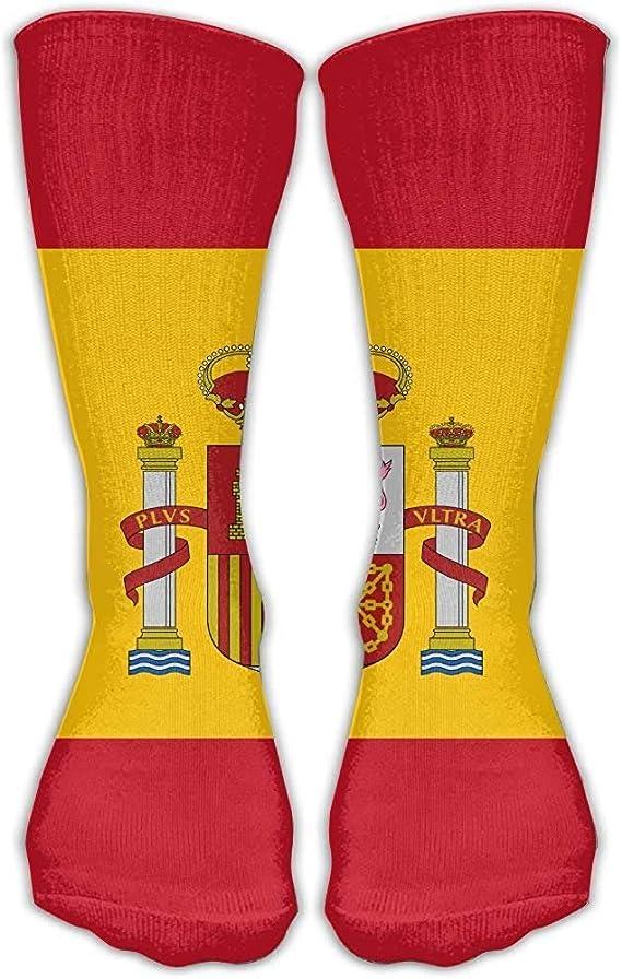 NA Adulto España Bandera Regalos Calcetines Moda Calcetín: Amazon ...