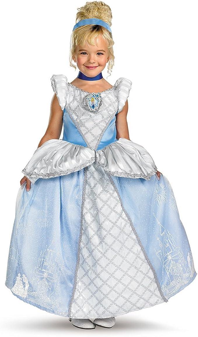 Disney Princess Cinderella Movie Prestige Child Costume