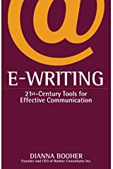 E-Writing: 21st-Century Tools for Effective Communication Paperback