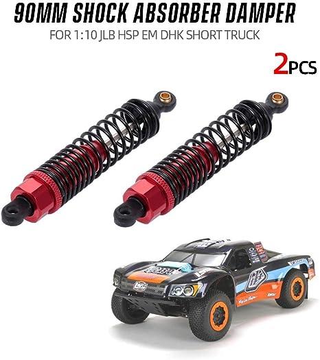 Parts For Cars >> Festnight 2pcs Shock Absorber Damper 90mm Rc Car Parts For 1