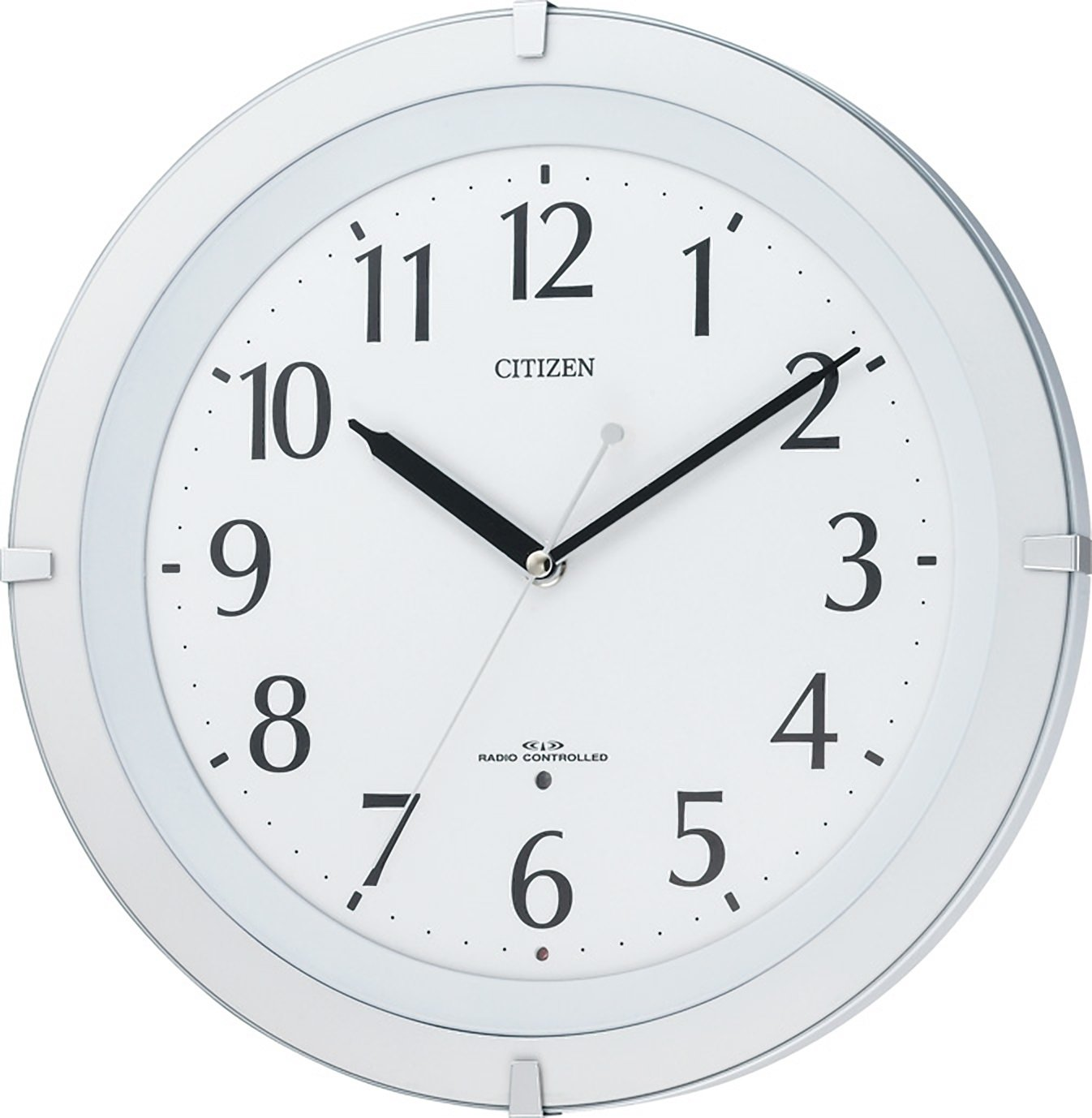 CITIZEN ( シチズン ) 電波 掛け時計 リバライト F460 ホワイト 8MY460-003 B003R50KRIホワイト