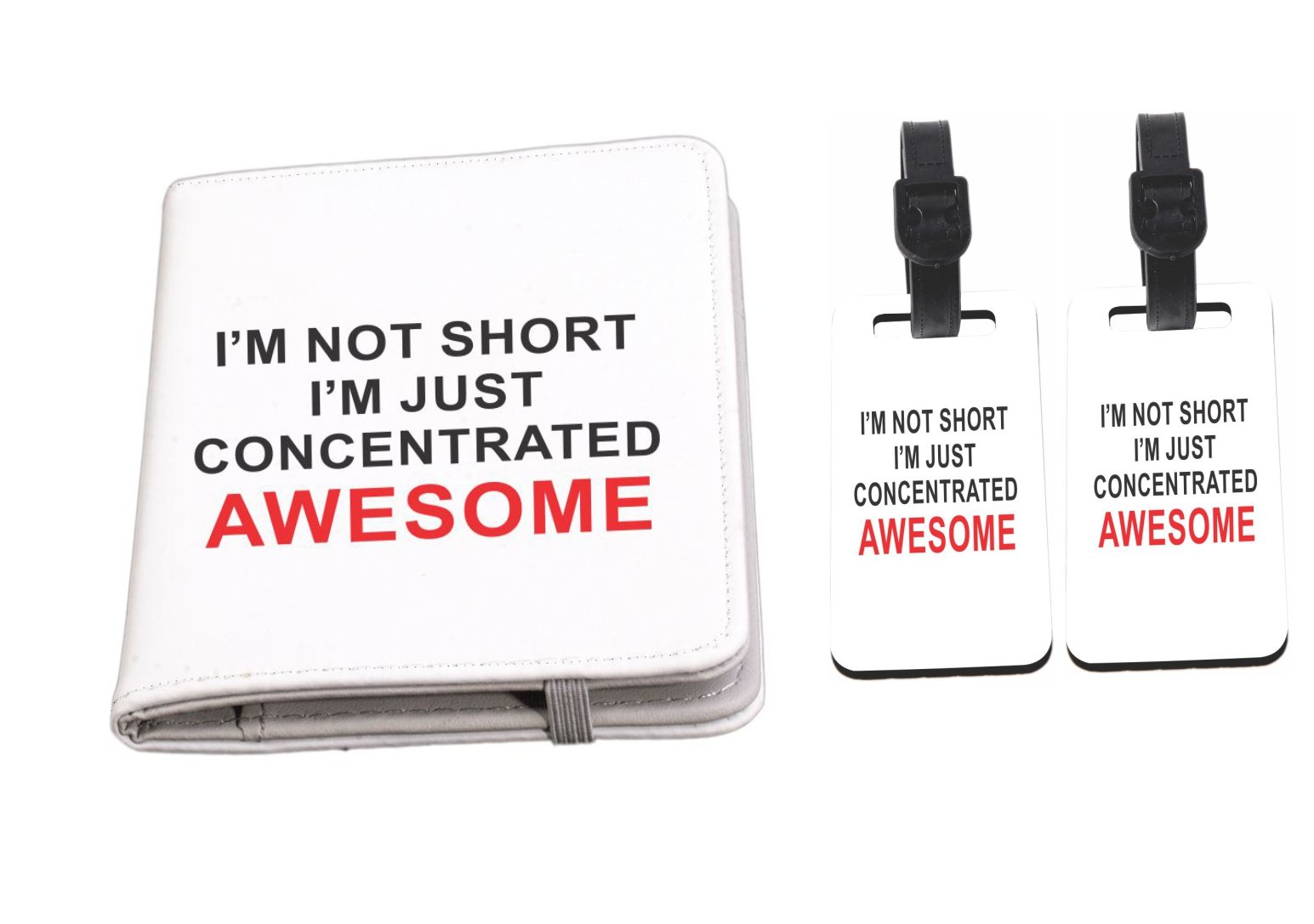 I'm not short…Awesome Passport Holder + Luggage Identifiers