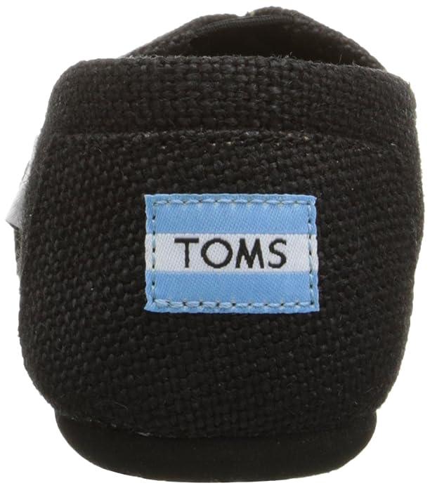 Amazon.com | Toms Burlap Women's Classic Black 001004B11-BLK (SIZE: 6.5) |  Shoes