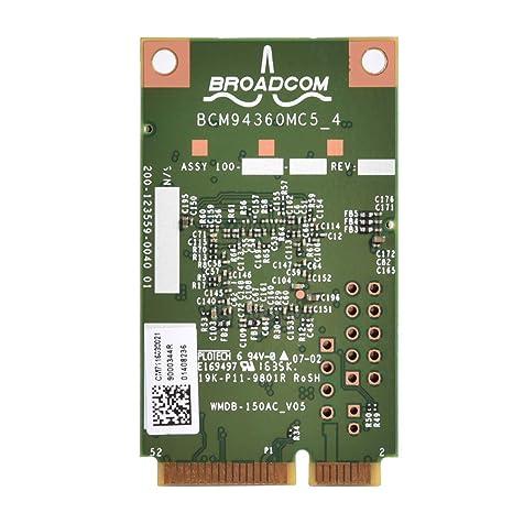 Vbestlife Módulo de Tarjeta de Red WiFi de 5 GHz PCi-E ...