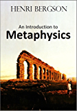 An Introduction to  Metaphysics (1912)