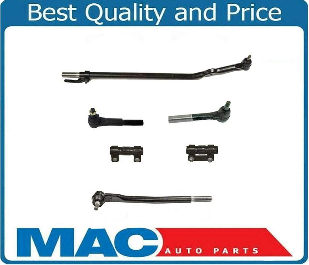 Excursion F350 F250 SD Drag Link & Tie Rod Rods 2 Wheel 6Pc Twin I Beam Axles Mac Auto Parts