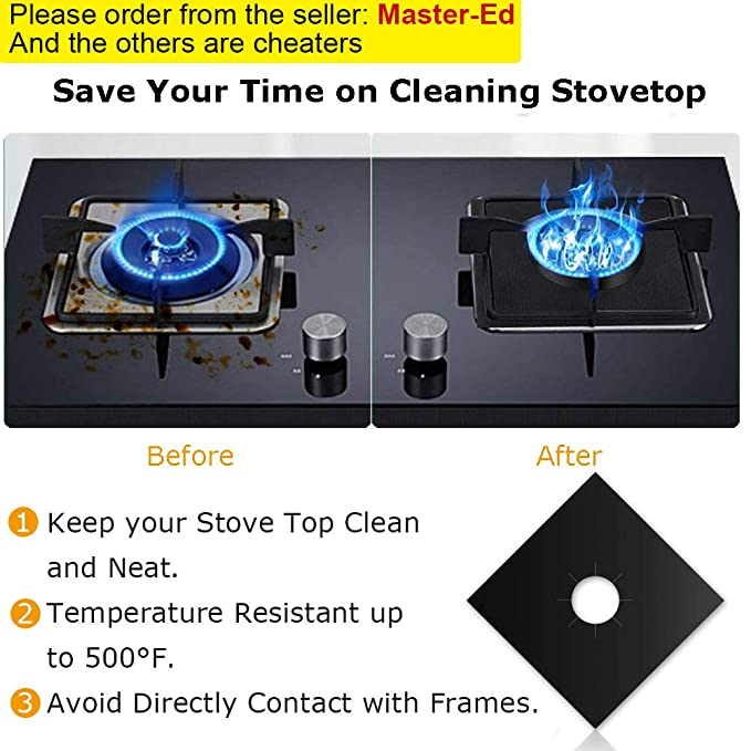 Amazon.com: Cubiertas para quemadores de estufa.: Aparatos