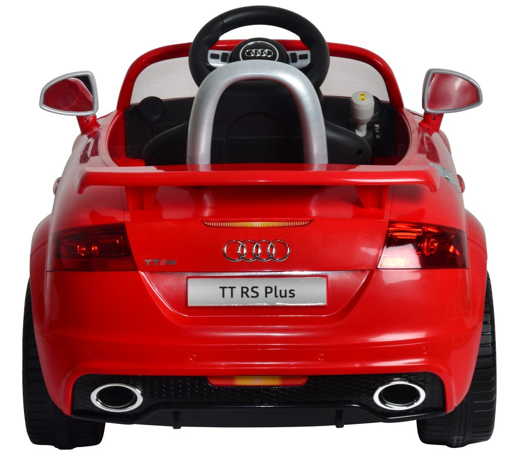 Buy mera toy shop b wild audi tt rs plus electric motor car red online at low prices in india amazon in