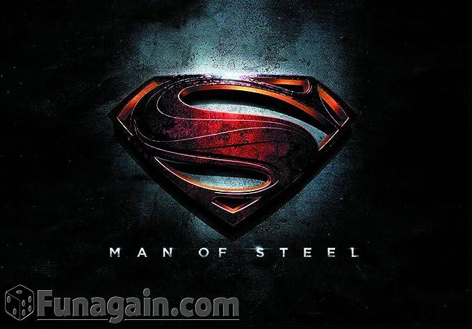 Amazon.com: Hero Clix - Man Of Steel 2 Figure Mini Game ...
