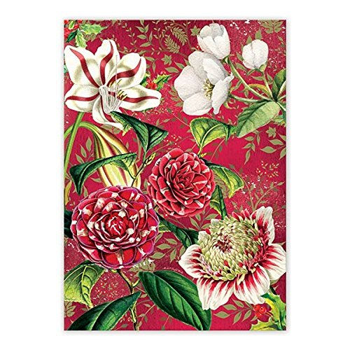 Michel Design Works TOW292 Cotton Kitchen Dish Towel, Christmas Day (Beautiful Dishes Christmas)