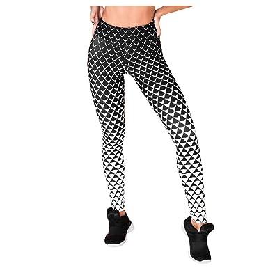 cinnamou Pantalones Mujer, Pantalones Yoga Cintura Alta ...