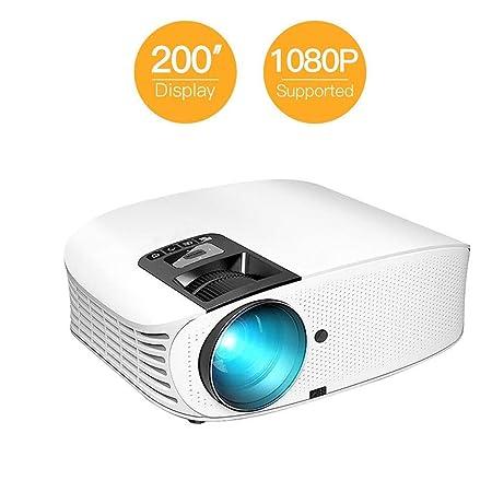 DBSCD Mini proyector portátil Pantalla LED de 1280 * 768P ...
