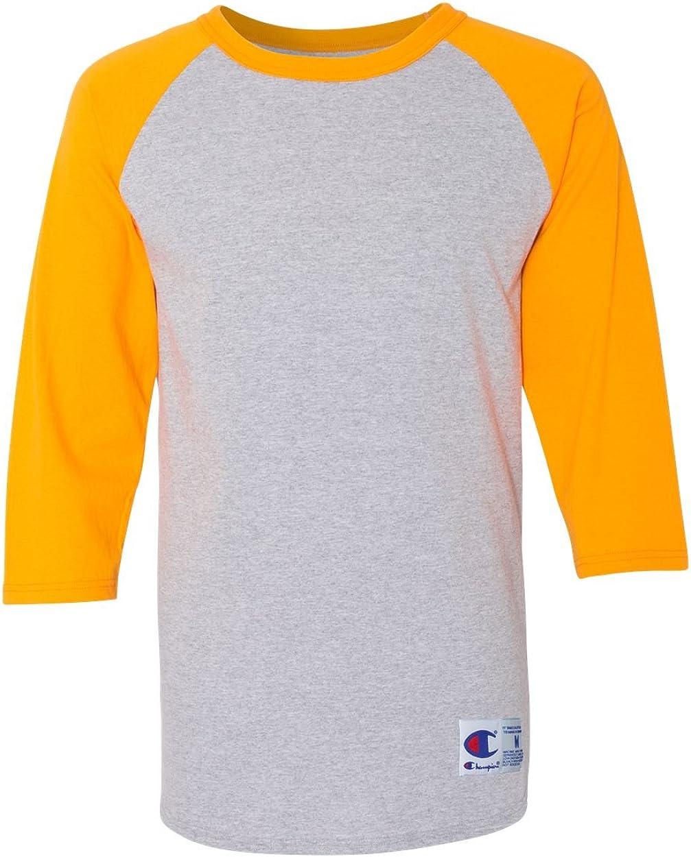Champion Mens Raglan Baseball T-Shirt