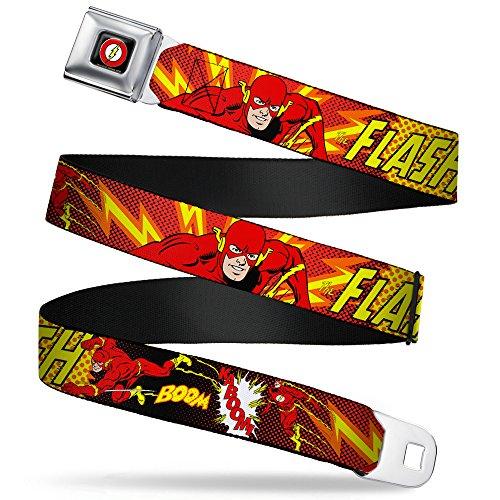 Buckle-Down Seatbelt Belt The Flash Regular