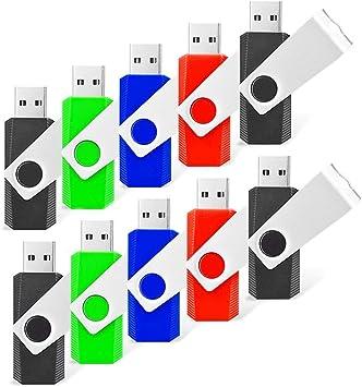 10 Pack 1GB-8GB Metal Key Memory Flash Drive Flash Memory Stick Thumb Pen Drives