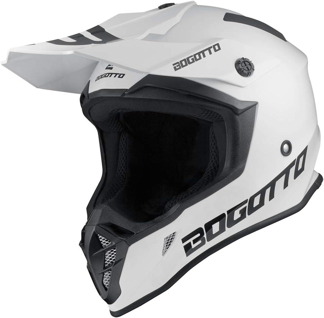 Bogotto V332 Solid Casque de motocross