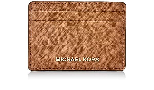 Michael Kors Money Pieces, Tarjetero para Mujer, Marrón ...