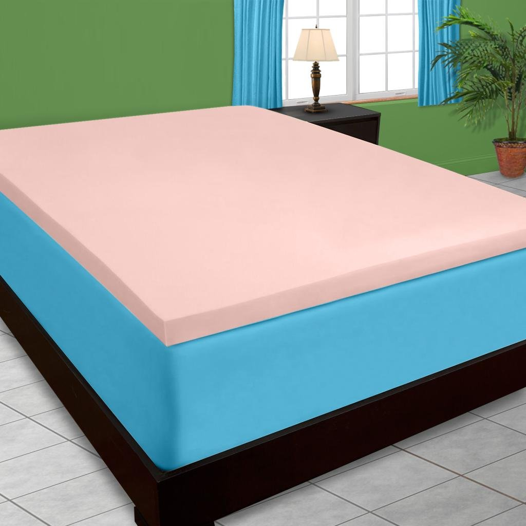 4 inch 5 pound memory foam mattress topper Amazon.com: DreamDNA 5lb Queen Size 4