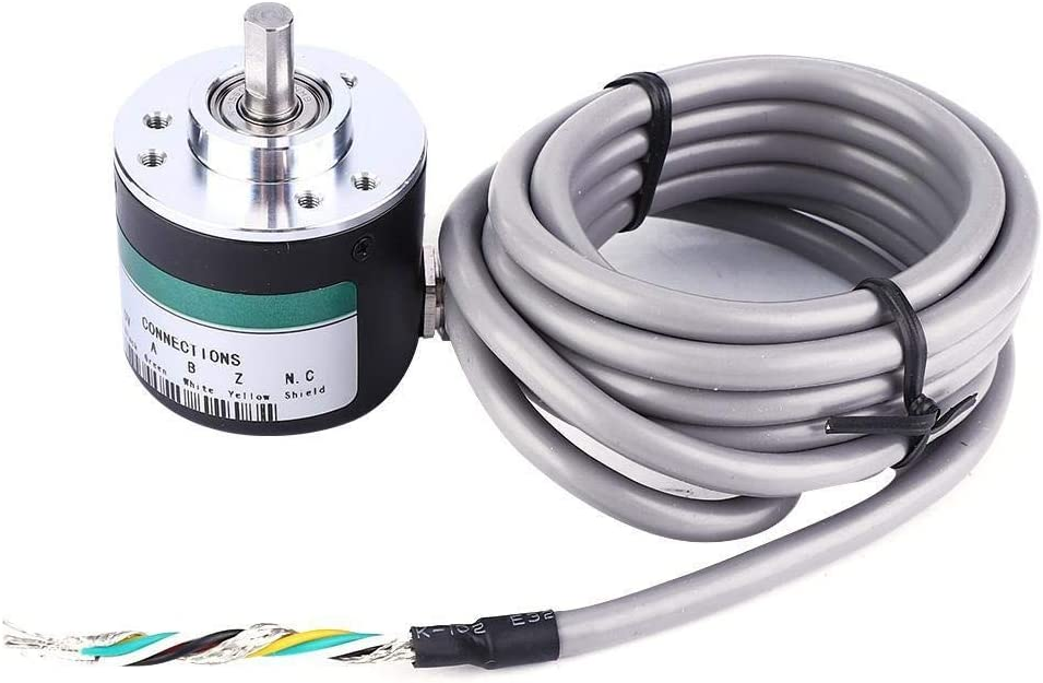 Beennex GTS06-1000 5-24V Incremental Pulse Photoelectric Rotate Encoder ABZ 3 Phase 6mm Shaft
