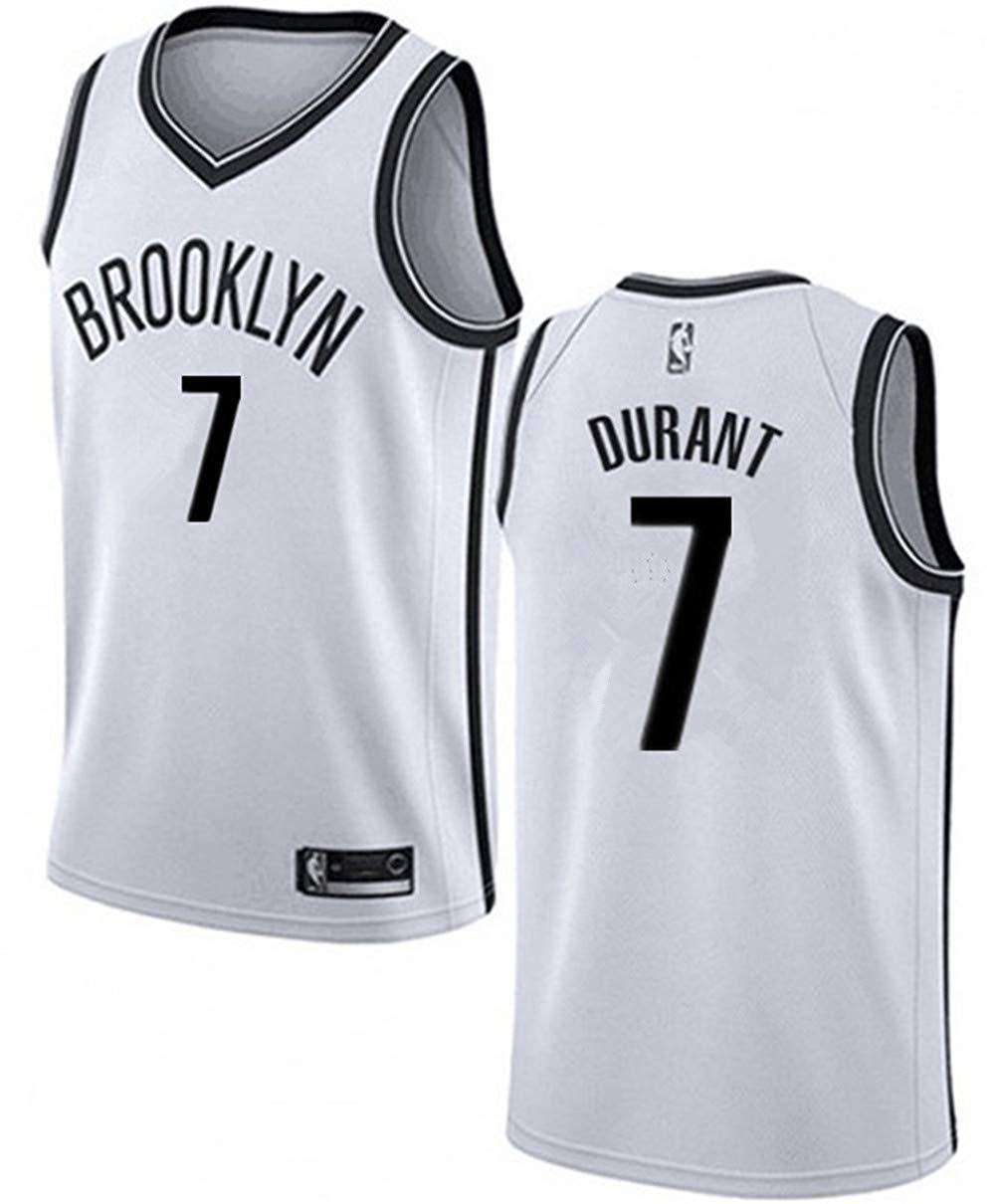 Boruo NBA Hombre Jersey,Brooklyn Nets n#7 Durant Ropa de ...