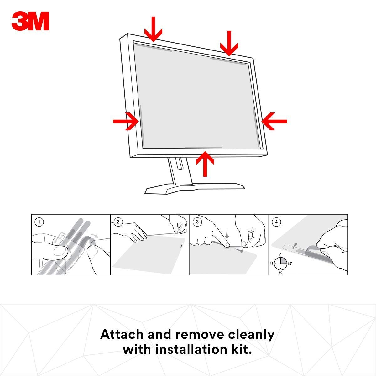 5:4 3M Privacy Filter for 17 Standard Monitor PF170C4B Renewed