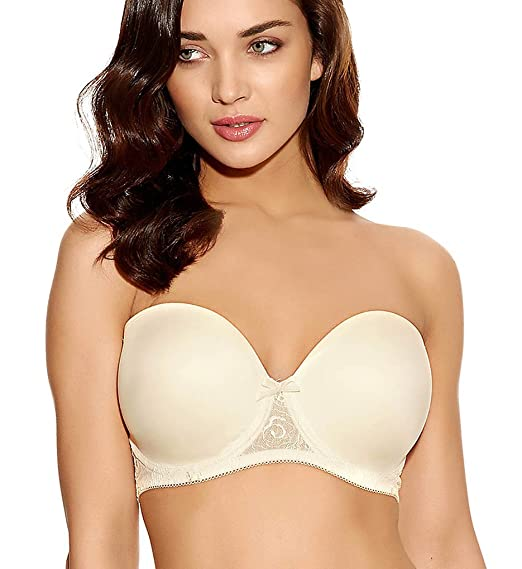 dc1c604fe8e72 Freya Women s Deco Darling Underwire Moulded Strapless Bra Deco Darling  Underwire Moulded Strapless Bra  Amazon.co.uk  Clothing
