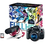 Canon EOS Rebel T6i Video Creator Kit...